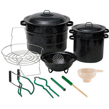 Granite Ware 21-qt. Canning Kit, Black