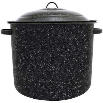 Graniteware F6125DS-1 21 Quart Steel Stock Pot