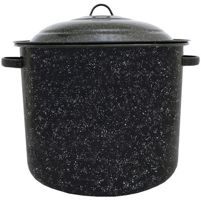 Graniteware F6125DS-1 21 Quart Steel Stock Pot