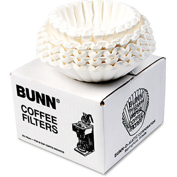 Bunn BCF250 Flat Bottom Coffee Filters - 12 Cup Size