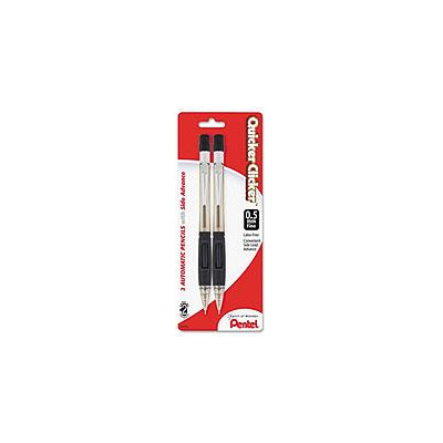 Pentel Quicker Clicker Automatic Pencil, Two-Pack