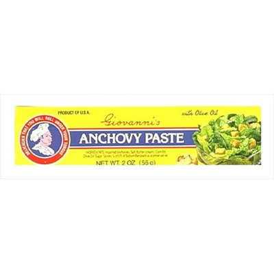 Giovanni Anchovy Paste 2-Ounce Unit -Pack of 12
