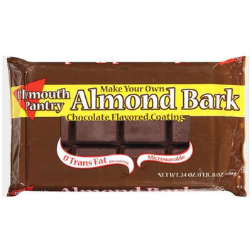Plymouth Pantry Almond Bark Chocolate Baking Bar, 24 oz