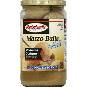 Manischewitz Soup Matzo Ball Broth Lsalt -Pack of 12