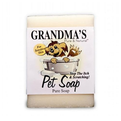 Grandma's Pure And Natural Pet Soap Bar For Sensitive Skin 67002 by Remwood
