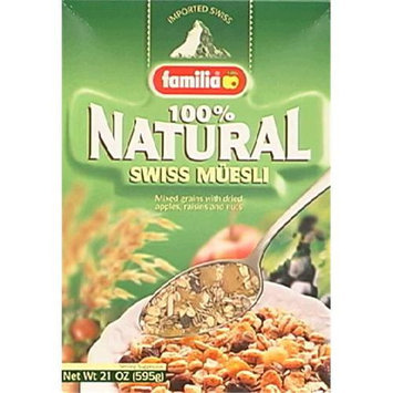 Familia 100% Natural Swiss Muesli Cereal, 21 oz