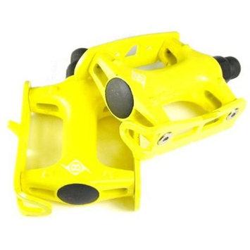 Origin8 Pro Track Light Fixed Gear Yellow Bike Pedals