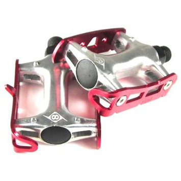 Origin8 Pro Track Light Fixed Gear Red Bike Pedals