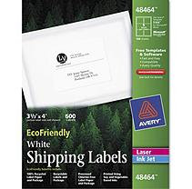 AVERY 48464 Labels Address 3-1/3inx4in 600/BX White