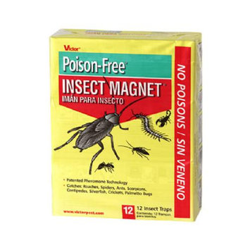 Victor Poison Free Victor Pest Control Insect Magnet (12-Pack) M256