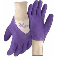 Boss Gloves 8403VS Small Violet Dirt Digger Gardening and General Purpose Gloves