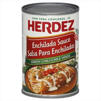 Herdez Enchilada Sauce Green Chili Mild 10 Oz Pack Of 12