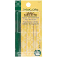 Dritz Quilting Quilter's Basting Hand Needles-Size