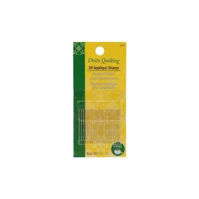 Dritz Quilting Applique Sharps Needles-Size 10 20/