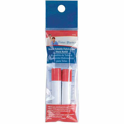 Dritz 7776 Fons and Porter Water Soluble Fabric Glue Stick Refill2Pkg
