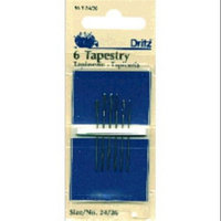 Dritz 72092 Tapestry Hand Needles-Size 24-26 6-Pkg