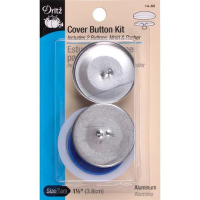 Dritz 93172 Cover Button Kits-Size 60 1.5 in. 2-Pkg
