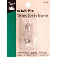 Dritz Twist Pins-Size 16 10/Pkg