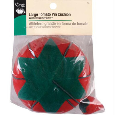 Dritz Large Tomato Pin Cushion-With Emery Strawberry