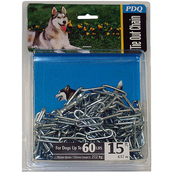 Warren Pet Products 09415 4mmx15ft. Bu X-Lg Dog Chain