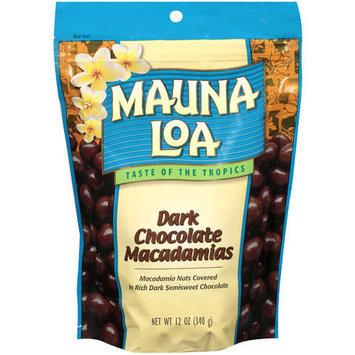Mauna Loa Dark Chocolate Macadamias