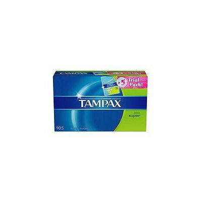 Tampax Pearl Trial Pack Tampons Regular