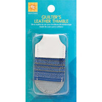 Wright's Wrights 80884 Quilters Leather Thimble-Adjustable