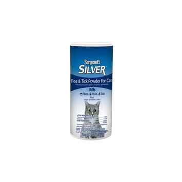 Sergeant S Pet Products P 02859 Sgt Silver Flea & Tick Powder 4 Ounce