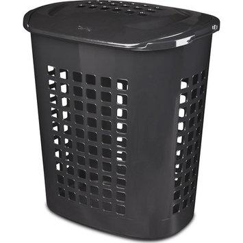 Sterilite 2.3 Bushel Lift-Top Laundry Hamper, 4-Pack, Black