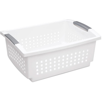 Sterilite Large Stacking Basket (6-Pack)
