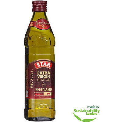 Star Picual Extra Virgin Olive Oil for Beef/Lamb, 16.9 fl oz