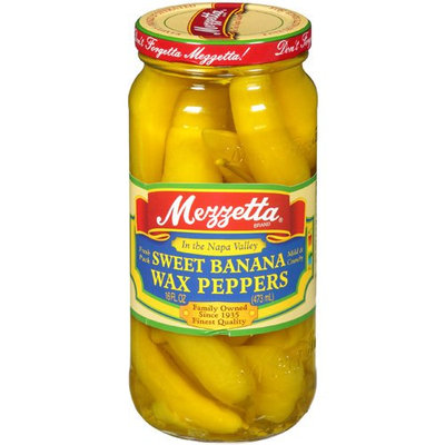 Mezzetta Sweet Banana Wax Peppers, 16 fl oz