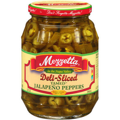 MEZZETTA 87040 MEZZETTA PEPPER JALPNO TAME DELI S - Pack of 6 - 32 OZ