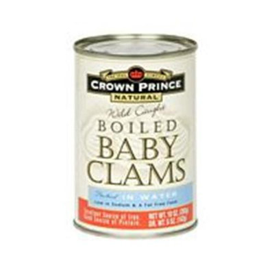 CROWN PRINCE Boiled Baby Clams 10 OZ