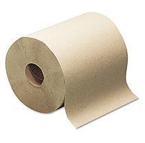 Sca Tissue Hardwound Paper Towels Bulk Hard Roll Towels, Natural, 7