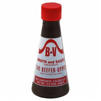 Kehe Distributors B V 4116 B V BROTH & SAUCE BEEFER UPPER - Case of 12 - 3.75 OZ