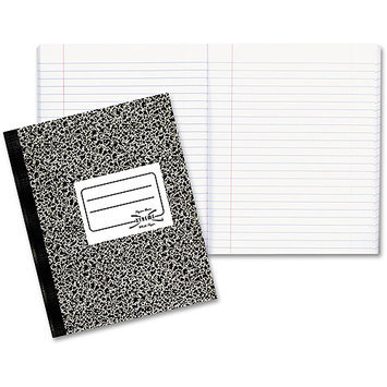 Rediform Composition Book, Wide/Margin Rule, 80 Sheets/Pad
