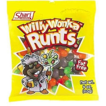 Ddi Willy Wonka Runts 4 oz Bag(Case of 12)