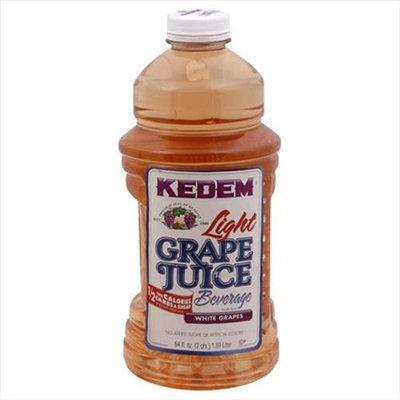 Kedem Juice White Grape Lght -Pack of 8