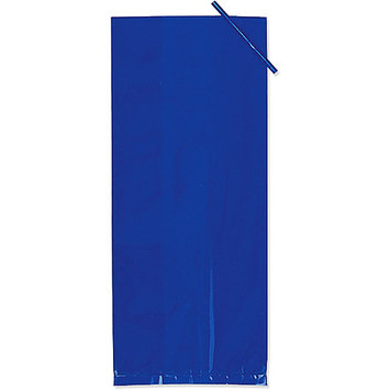 Creative Converting 190251 Blue Treat Bags- 20 count
