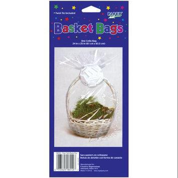 Creative Expressions CBB Cellophane Basket Bag 24X25