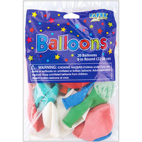 Paper Art 20120 Balloons Round 9amp;