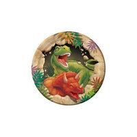 Dinosaur Adventure Cake Plates (8-pack)