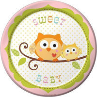 Happi Tree Girl Plates