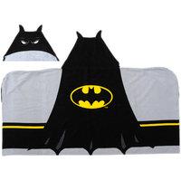 Warner Brothers Batman Logo Hooded Towel
