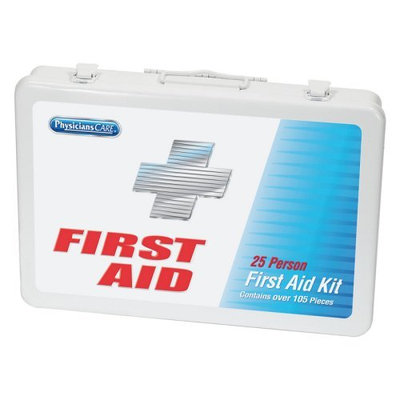 Acme United Physicians Care Office First Aid Kit - 105 Pieces