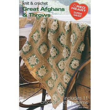Coats: Crochet & Floss Coats & Clark Books-Great Afghans & Throws -Super Saver