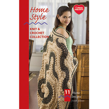 Coats: Crochet & Floss Coats & Clark Books-Home Style -Assorted Yarns