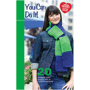 Coats: Crochet & Floss Coats & Clark Books-You Can Do It -Super Saver