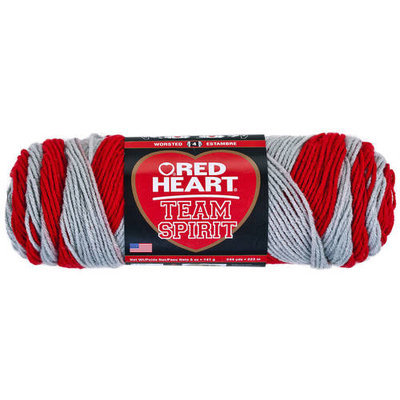 Coats Yarn E797948 Red Heart Team Spirit YarnGreenGold